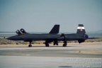 61-7956 02 SR-71B N831NA left front taxiing l