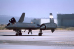 61-7956 SR-71B N831NA left front canopies open l