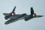 61-7974 32 SR-71A 64-17974 left rear in flight afterburners l