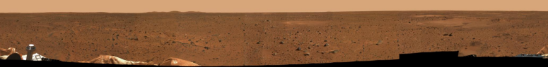 spirit mars panoramic view m